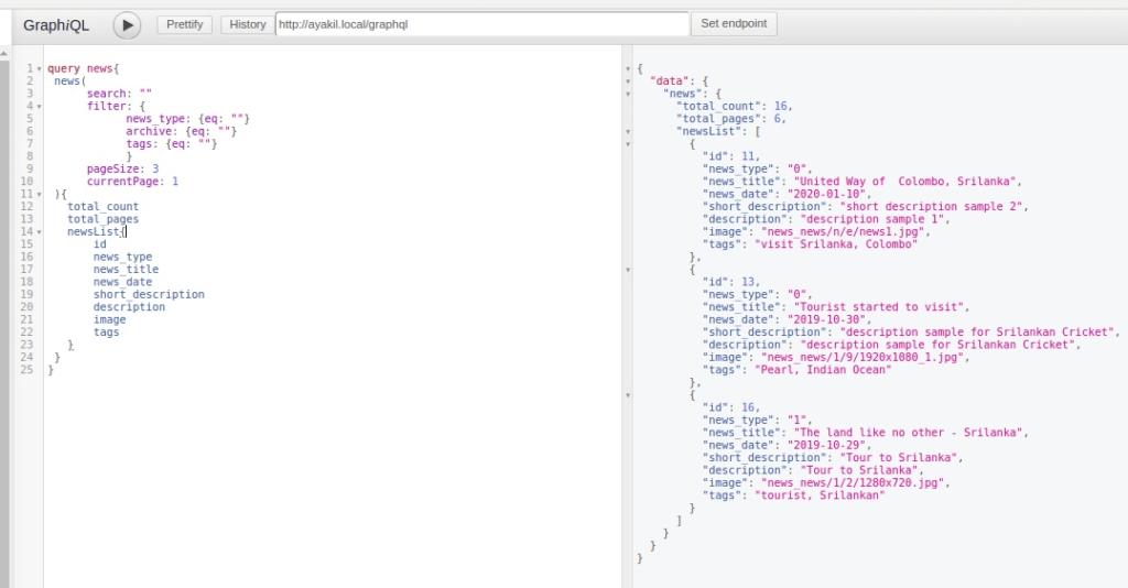 magento 2 custom graphql search query.